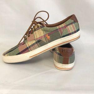 BOGO 50% OFF Polo Ralph Lauren Vaughn Plaid Shoes